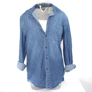 Goodfellow & Co Denim Shirt Women's Sz Med